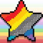אומנות צביעת פיקסלים - משחק צביעה